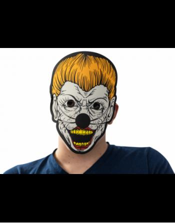Led rave mask clown