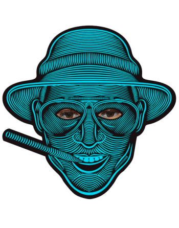 Led rave mask B. Mars
