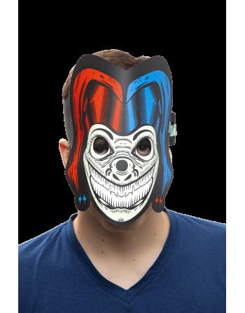 Led rave mask joker