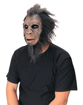 Black hairy ape