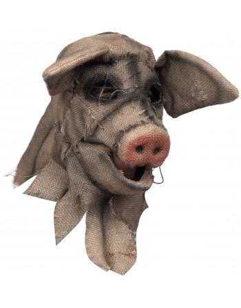 cerdo siniestro boca movible