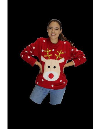 Ugly sweater rodolfo el reno