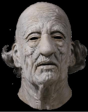 Leatherface grandpa mask