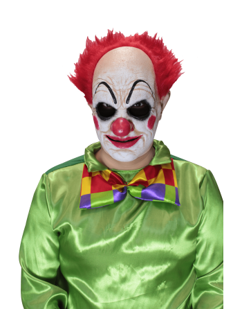 Pickles the clown red