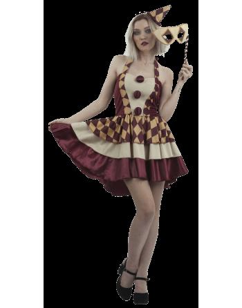 Vintage Clown Girl