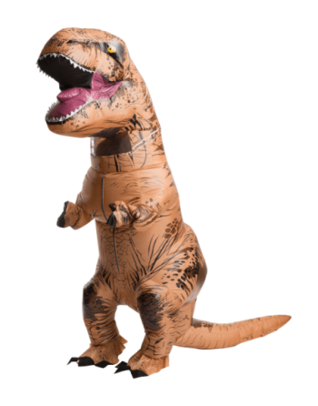 Dinosaurio rex inflable...