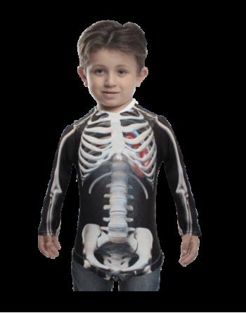 Skeleton kid