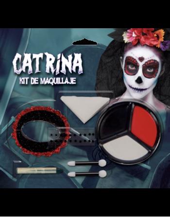 Juego de maquillaje - catrina