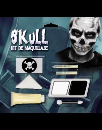 Juego de maquillaje - skull
