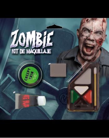 Juego de maquillaje - zombie