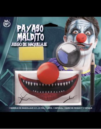 Juego maquillaje evil clown