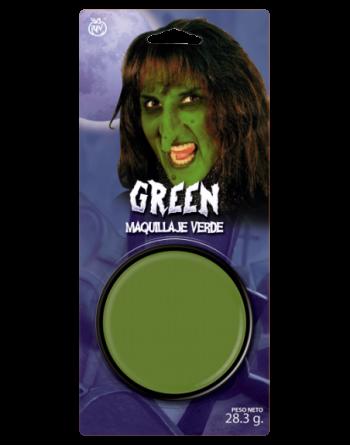 maquillaje pasta verde