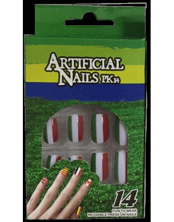 Kit de uñas tricolor