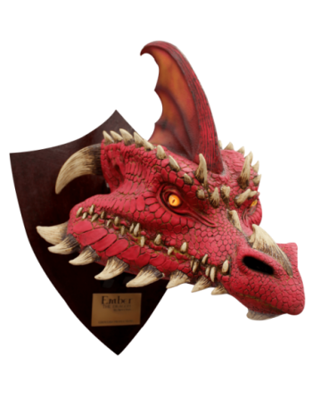 Ember the red dragon - trophy