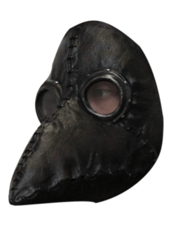 Plague doctor black